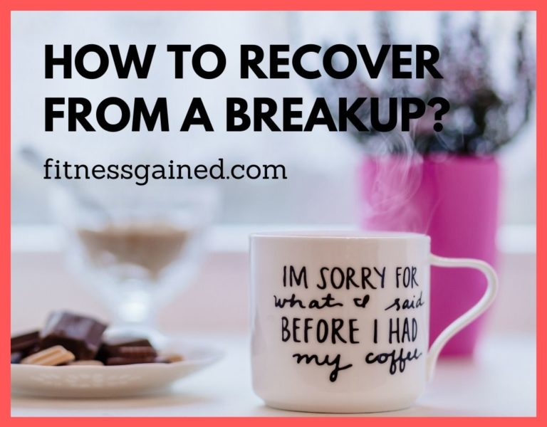 recover from a breakup