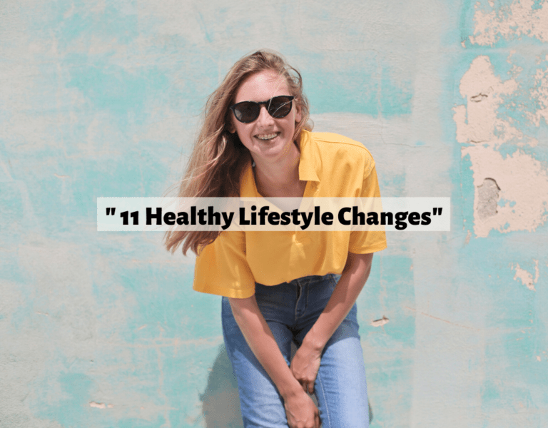 healthy lifestyle changes
