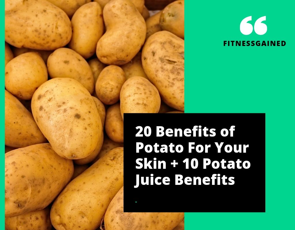 Potatoes For skin