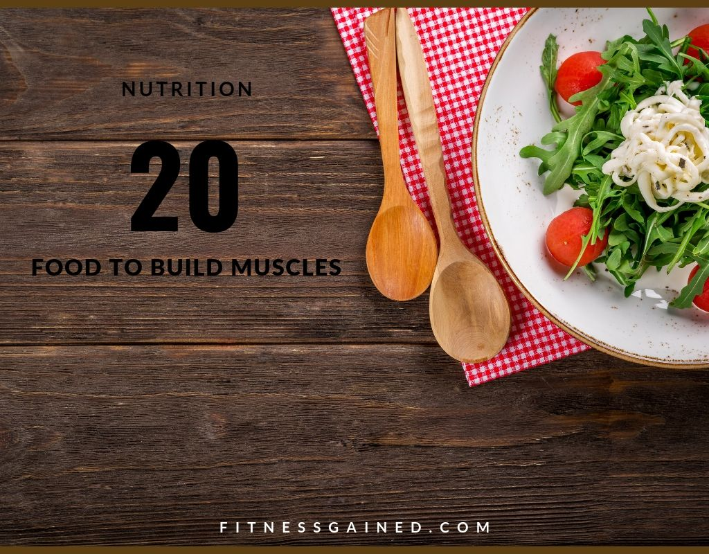 20 Food to Lose Weight and Build Muscle Fast | 10 Muscle Building Tips